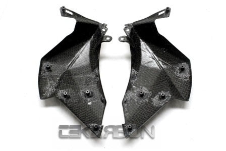 2013 - 2016 Kawasaki Z800 Carbon Fiber Large Side Fairings