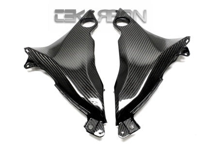 2013 - 2016 Kawasaki Z800 Carbon Fiber Lower Side Panels