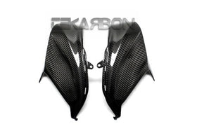 2013 - 2016 Kawasaki Z800 Carbon Fiber Side Tank Panels