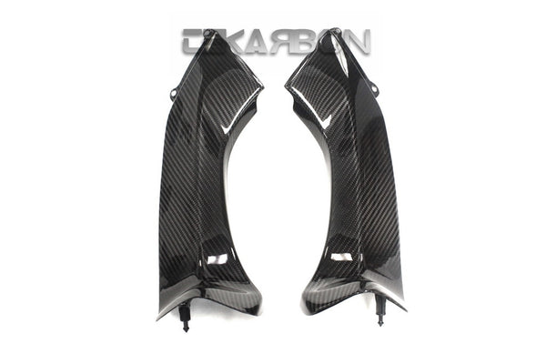 2006 - 2007 Kawasaki ZX10R Carbon Fiber Air Intake Covers