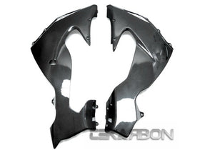 2006 - 2007 Kawasaki ZX10R Carbon Fiber Lower Side Fairings