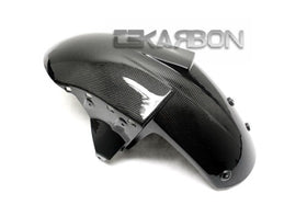 2004 - 2007 Kawasaki ZX10R / 05 - 08 ZX6R Carbon Fiber Front Fender Center