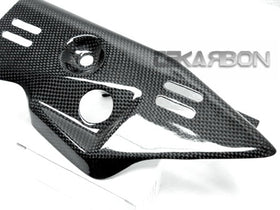 2011 - 2015 Kawasaki ZX10R Carbon Fiber Exhaust Heat Shield