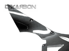 2011 - 2016 Kawasaki ZX10R Carbon Fiber Front Under Panel