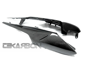 2011 - 2015 Kawasaki ZX10R Carbon Fiber Tail Side Fairings