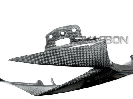 2011 - 2015 Kawasaki ZX10R Carbon Fiber Upper Side Fairings