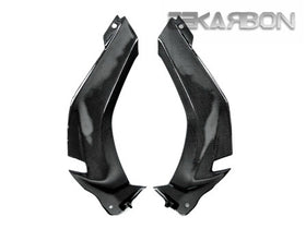 2011 - 2015 Kawasaki ZX10R Carbon Fiber Upper Side Panels