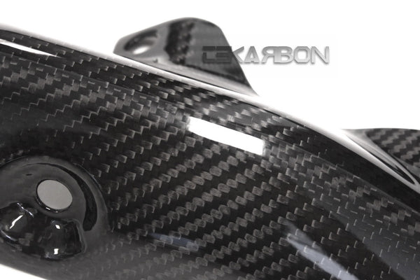 2016 - 2017 Kawasaki ZX10R Carbon Fiber Exhaust Heat Shield