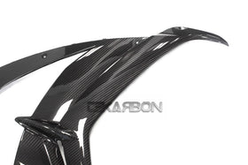 2016 - 2017 Kawasaki ZX10R Carbon Fiber Large Side Fairings w/ Front Side Panels