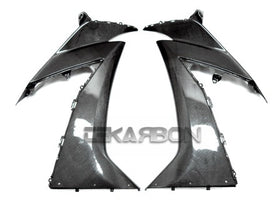 2010 Kawasaki ZX10R Carbon Fiber Upper Side Fairings