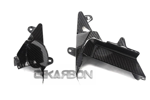 2012 - 2016 Kawasaki ZX14R Carbon Fiber Middle Inner Side Panels