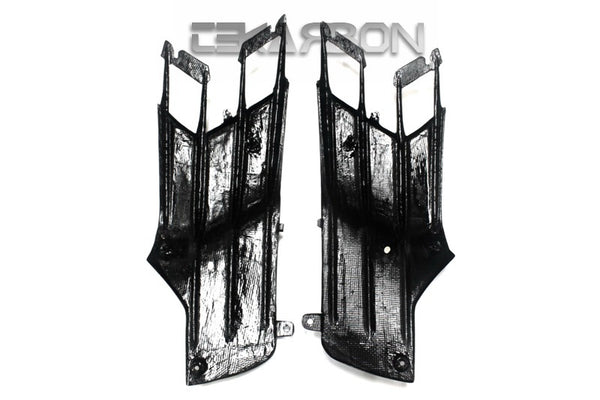 2012 - 2016 Kawasaki ZX14R Carbon Fiber Side Tank Panels