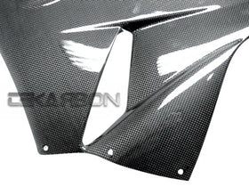 2009 - 2012 Kawasaki ZX6R Carbon Fiber Belly Pan