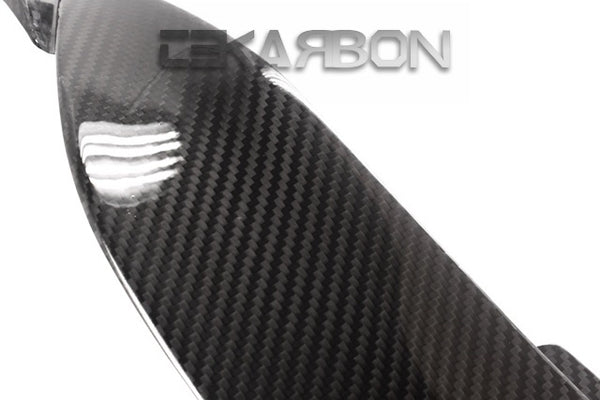 2009 - 2012 Kawasaki ZX6R Carbon Fiber Side Tank Panels