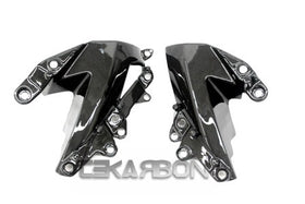 2009 - 2012 Kawasaki ZX6R Carbon Fiber Side Fairing Panels