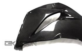 2013 - 2016 Kawasaki ZX6R Carbon Fiber Lower Side Fairings