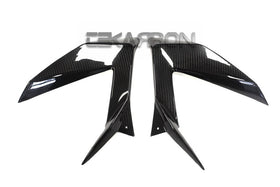 2013 - 2016 Kawasaki ZX6R Carbon Fiber Side Fairing Panels
