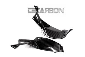 2013 - 2016 Kawasaki ZX6R Carbon Fiber Air Intake Covers