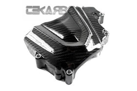2013 - 2020 Kawasaki ZX6R Carbon Fiber Sprocket Cover