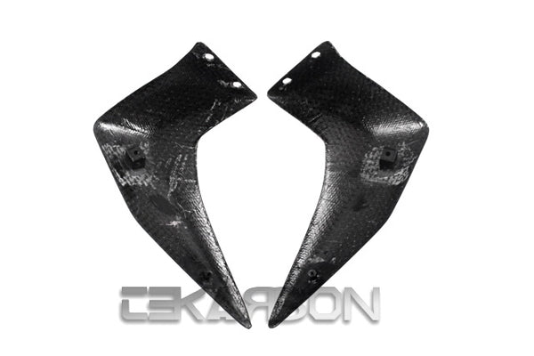 2007 - 2011 Kawasaki Z750 Carbon Fiber Front Side Panels