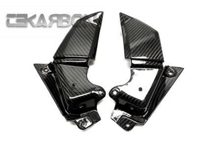 2013 - 2016 Kawasaki Z800 Carbon Fiber Front Side Panels