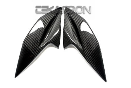 2013 - 2016 Kawasaki Z800 Carbon Fiber Headlight Side Panels