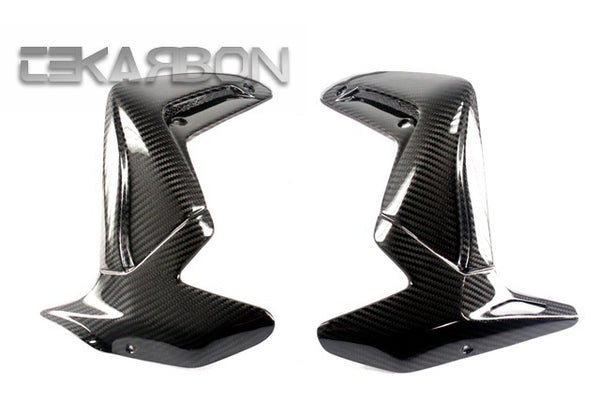 2010 - 2012 MV Agusta Brutale 1090 990 920 Carbon Fiber Radiator Covers
