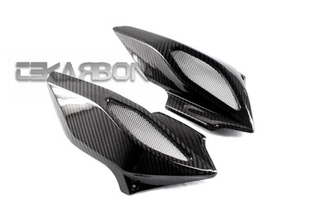2012 - 2015 MV Agusta Brutale 675 / Dragster 14-15 Carbon Fiber Air Intake Covers