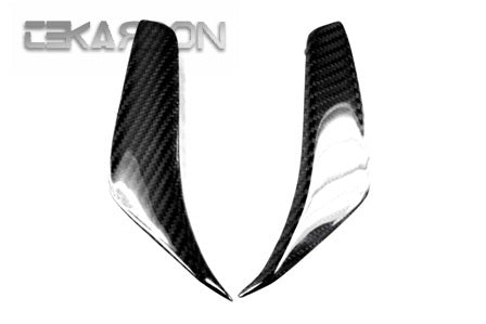 2010 - 2013 MV Agusta F4 Carbon Fiber Mirror Air Scoop Covers