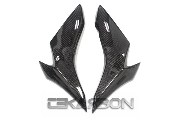 2015 - 2017 Suzuki GSX-S1000 Carbon Fiber Front Side Fairings