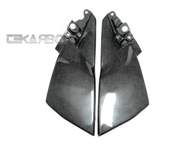 2008 - 2011 Suzuki GSX1300 B-King Carbon Fiber Side Tank Panels