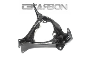 2007 - 2008 Suzuki GSXR 1000 Carbon Fiber Stay Up Bracket - Twill