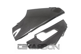 2017 - 2020 Suzuki GSXR 1000 Carbon Fiber Lower Side Fairings