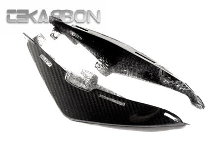 2011 - 2014 Suzuki GSR750 Carbon Fiber Tail Side Panels