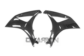2007 - 2008 Suzuki GSXR 1000 Carbon Fiber Large Side Fairings (Twill)