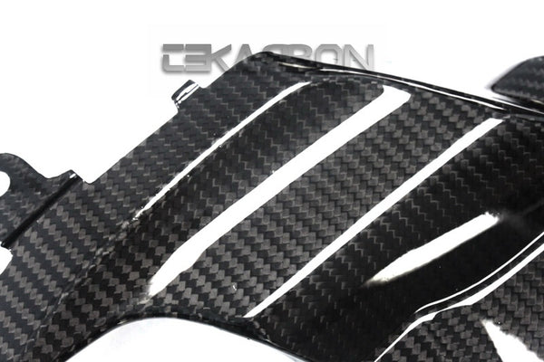 2009 - 2015 Suzuki GSXR 1000 Carbon Fiber Side Fairing Panels - LH (Twill Only)