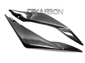 2005 - 2006 Suzuki GSXR 1000 Carbon Fiber Side Tank Panels