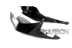 2005 - 2006 Suzuki GSXR 1000 Carbon Fiber Tail Side Fairings (Twill only)