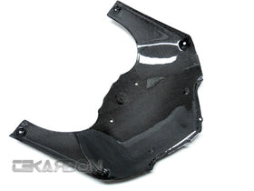 2007 - 2008 Suzuki  GSXR 1000 Carbon Fiber Front Under Panel