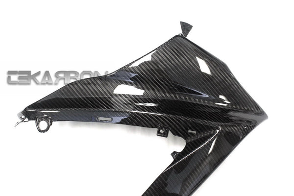 2007 - 2008 Suzuki GSXR 1000 Carbon Fiber Upper Side Fairings