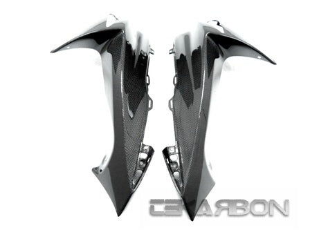 2011 - 2018 Suzuki GSXR 600 / 750 Carbon Fiber Front Side Fairings