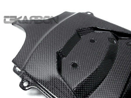 2011 - 2018 Suzuki GSXR 600 750 Carbon Fiber Rear Under Panel