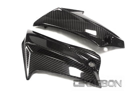 2011 - 2018 Suzuki GSXR 600 750 Carbon Fiber Side Fairing Panels