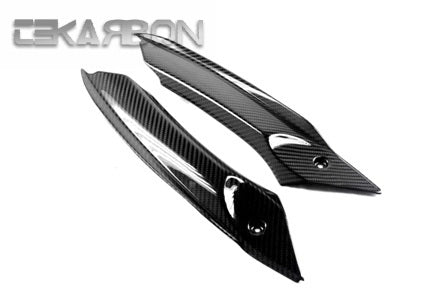 2006 - 2012 Triumph Daytona 675 Carbon Fiber Air Intake Covers