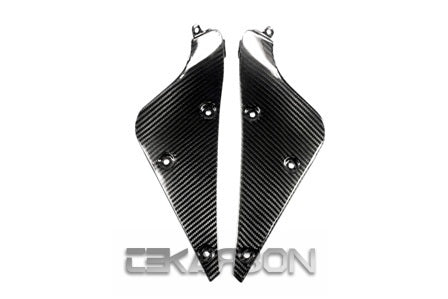 2006 - 2012 Triumph Daytona 675 Carbon Fiber Inner Side Panels