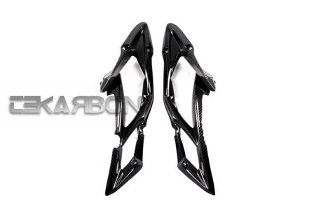 2013 - 2014 Triumph Daytona 675 Carbon Fiber Side Fairing Panels
