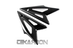 2008 - 2010 Triumph Speed Triple Carbon Fiber Side Tank Panels