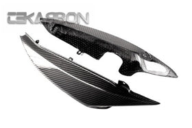 2008 - 2010 Triumph Speed Triple Carbon Fiber Tail Side Fairings