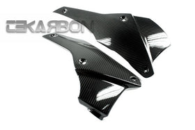 2011 - 2014 Triumph Speed Triple Carbon Fiber Lower Side Fairings