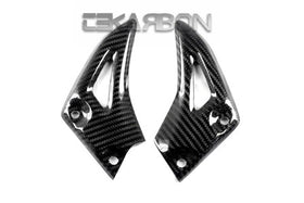 2011 - 2014 Triumph Speed Triple Carbon Fiber Heel Plates